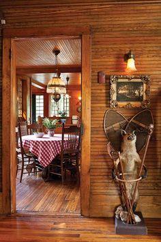 Restoring an Adirondack Camp - Restoration & Design for the Vintage House