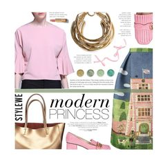 """""""StyleWe.com 5/5 - Modern Princess"""" by federica-m ❤ liked on Polyvore featuring Rosantica, Gucci, Terre Mère, Chanel, modern and stylewe"""