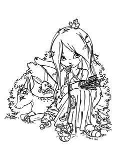 coloring pictures of demeter Blank Coloring Pages, Fairy Coloring Pages, Colouring Pics, Coloring Sheets, Printable Coloring Pages, Coloring Books, Colorful Drawings, Colorful Pictures, Creation Art