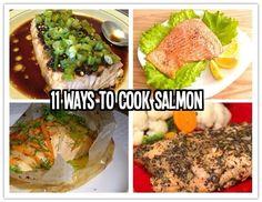 11 Ways to Cook Salmon Fish!!!