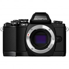 Olympus OM-D E-M10 Mirrorless Micro Four Thirds Digital Camera (Body Only) - Black