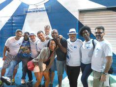 O Grupo na Feijoada da Família Portelense