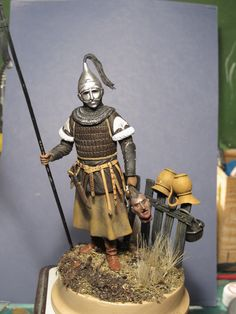 Steppe warrior toy soldiers for collectors