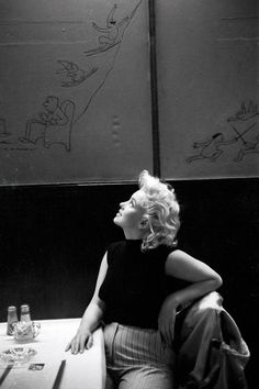 In a New York City restaurant in March 1955. - Cosmopolitan.com