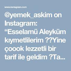 """@yemek_askim on Instagram: """"Esselamü Aleyküm kıymetlilerim ⚘⚘Yine çoook lezzetli bir tarif ile geldim 👌Tarifi @cahide_sultan ablama aittir TRİLİÇE 4 adet yumurta 1.5…"""" • Instagram"""