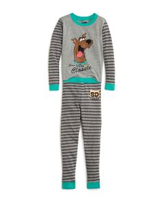 30d774daa5 Intimo Boys  Scooby Doo Tight Fit Pajama Set - Sizes 2-7 Boys Sleepwear
