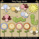 Baby Buggy Garden Clip Art Download
