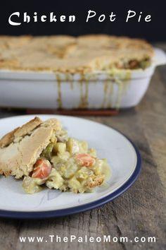 Chicken Pot Pie  | The Paleo Mom