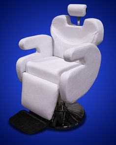New Mtn White All Purpose Barber Salon Spa Beauty Hydraulic Recline Chair Lounge | eBay