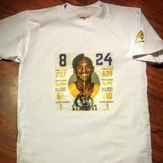 Kobe Bryant STATS DONT LIE Numbers don't lie Tops Tees - Short Sleeve
