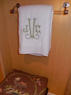 The French Tangerine: ~ napkins and towels and monograms