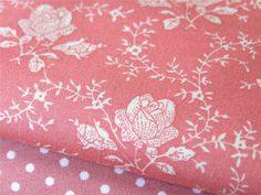 Vintage Rose Pink 100% cotton FABRIC for craft quilting patchwork bunting mtr/FQ | eBay