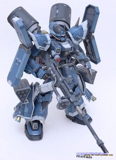 Custom Build: RE/100 Efreet Custom - Gundam Kits Collection News and Reviews