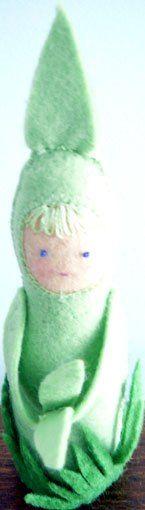 new shoot  simple pattern here https://fruitsofheart.wordpress.com/2012/10/04/grass-child-a-nature-doll-pattern/