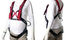 Here's a Full-Body Rock Climbing Harness For Pregnant Women Because Apparently That's a Good Idea