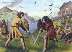 Wayne Reynolds, Pictish Warrior, Celtic Clothing, Scotland History, Vikings, Celtic Warriors, Celtic Art, Celtic Tribal, Iron Age