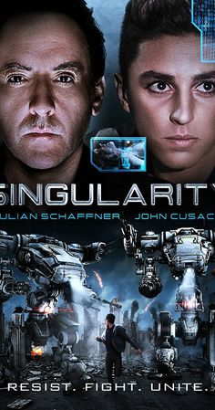 "Directed by Robert Kouba.  With Julian Schaffner, John Cusack, Carmen Argenziano, Eileen Grubba. In 2020, Elias van Dorne (John Cusack), CEO of VA Industries, the world's largest robotics company, introduces his most powerful invention--Kronos, a super computer designed to end all wars....""Okay scifi, B-movie, a little bit of Terminator Salvation and a little bit of The Day The Earth Stood Still."""