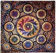 Large Star Quilts - Judi Mathieson - thank you for making the world a more beautiful place!