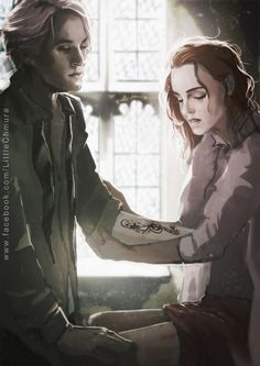 HP: Dramione - Death Eater's Mark by LittleChmura on DeviantArt