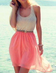 Summer dress. Clothes