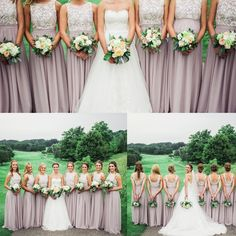 "Kate's girls looked truly amazing in their bridesmaid dresses from FHFH! Click ""Visit"" to find this bridesmaid dress!"