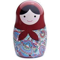 Babushka Doll Portable Speakers
