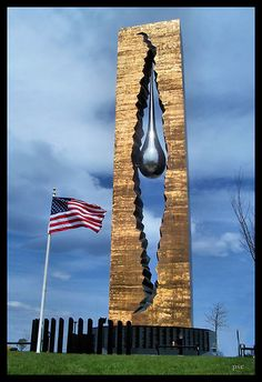 Tear Drop Memorial for From Russia-Bayonne, NJ Honoring The Victims… 911 Never Forget, Lest We Forget, Statues, 11. September, Land Of The Free, World Trade Center, God Bless America, Sculpture, Monuments