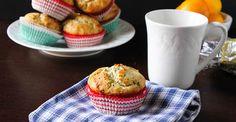 Meyer Lemon Chia Muffins* #healthy #recipes #breakfast