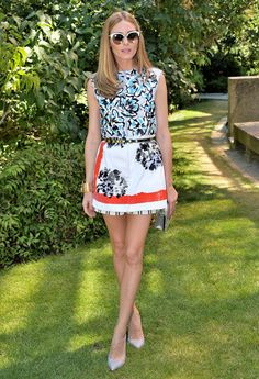 Olivia Palermo au défilé Dior - Juillet 2015