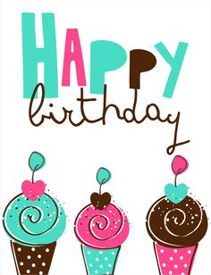 Blue Jelly Studio: graphic design, print & pattern design | Sugar #compartirvideos #felizcumpleaños