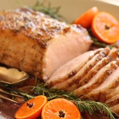 A fantastic holiday main course idea that is easier and more affordable than turkey or beef. Comes together quickly and easily! Pork Loin Roast stays moist and tender thanks to an easy pork brine recipe. Perfect for Christmas Dinner or New Years Eve! Pork Brine Recipe, Brine For Pork, Christmas Recipes Dinner Main Courses, Christmas Dinner Menu, Holiday Recipes, Christmas Dinners, Carne Asada, Pork Loin, Pork Roast