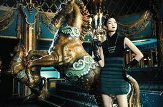 www.pegasebuzz.com   The horse fashion : Richard Bernardin for Shangai-tang, fall-winter 2013