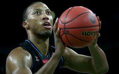 Download wallpapers Akil Mitchell, NBA, basketball, Brooklyn Nets