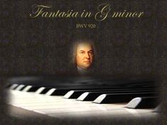 J.S.Bach - Fantasia in G minor BWV 920 - Santino Cara