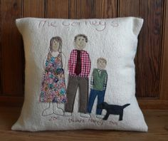 Personalised Family Cushion | Cushions | Home & Garden | Swanky Maison