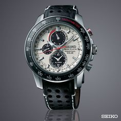 Seiko Sportura Chronograf Klockor Seiko Sportura Perpetual Solar Ref: Issey Miyake, Seiko Sportura, Watch Master, Seiko Watches, Fashion Watches, Chronograph, Solar, Pocket Watches, Pilot