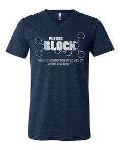 Medium Plexus BLOCK V-Neck Tee 20276310232014AO by CelebrationCity
