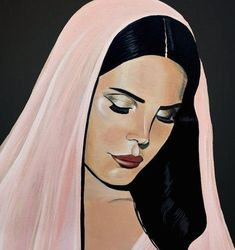 lana del rey aesthetic Tropico Paradise Limited Edition Poster Print by London Artist. (Artist Store Exclusive)Limited Edition Poster Prints come hand-signed and numbered by Artis Lana Del Rey Tattoos, Dance Like This, In The Pale Moonlight, Portrait Illustration, Art Portfolio, Easy Drawings, Poster Prints, Posters, Art Sketches