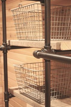 My Sweet Savannah: ~industrial pipe closet system~