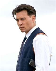 Johnny Depp as John Dillenger in Public Enemies... can you say wow...