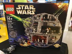 Nouvelles photos du set LEGO Star Wars 75159 Death Star prises sur la surface de…
