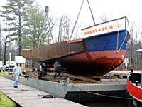 Peerless II Project 2008 dry dock inspection