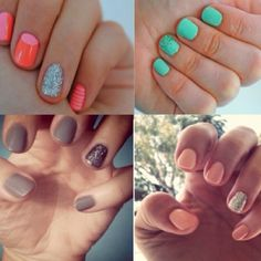 need my sister to do these to do the pink nails on me