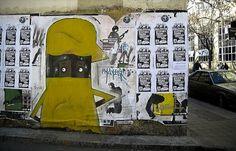 Street art from Republica, Santiago