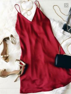 pinterest: @ e o w y n Little Red Dresses