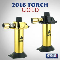 """But what's worth more than gold?"" The New Gold Mini butane torch by Newport is now available in store for Retail and Wholesale.  Order yours today: www.NewportButane.com Wholesale orders: sales@NewportButane.com  #NewportZero #NewportButane #NewportTorch #NewportTorches #Butane #ButaneFuel #Cigar #MiniTorch #Torch #Lighter #USA #premiumlighters #goldeverything #Beautiful #amazing #TerryPratchett #Gold #jewellery #jewellerydesign #elegant #classy #luxury #luxurious #exclusive #elegant #gold"