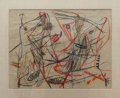 Karel Appel - Untitled - 1949 — at Centre Pompidou.