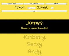 http://primaryschoolict.com/random-name-selector/  Online students selector!