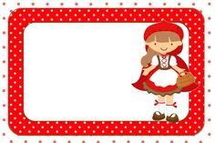 Moldura Convite e CartãoChapeuzinho Vermelho