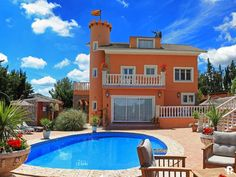 Torrelles De Foix Villa Rental: Luxury Castle Villa Near To Barcelona City - Members Of Ivra Sitges, Barcelona City, Spain And Portugal, Ideal Home, Property For Sale, Mansions, Architecture, House Styles, Outdoor Decor